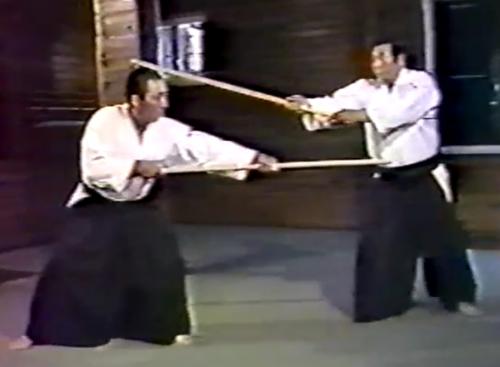 aikido,aikido montlucon asptt,13 jo kata,saito morihiro