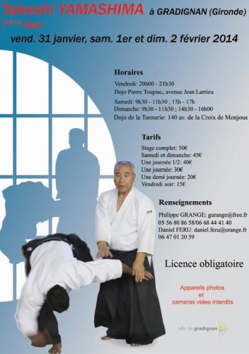 aikido,montlucon asptt,yamashima tadeshi