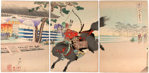 Chikanobu_Yoshu-Official_Ceremonies_Chiyoda_Palace-Yabusame_showing_his_abilities-00036348-040523-F12.jpg
