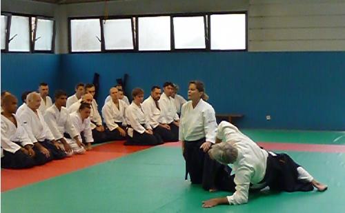 aikido,aikido montlucon asptt,micheline tissier