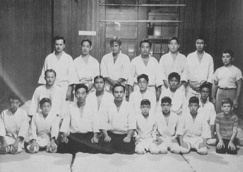 YMCA Dojo, 1961, avec Tohei Sensei.jpg