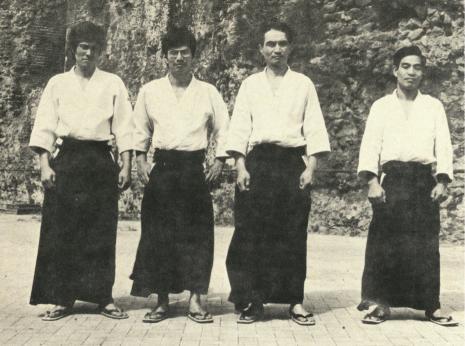 aikido,aikido montlucon asptt,yoji fujimoto
