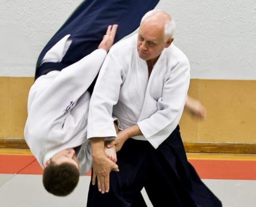 aikido,aikido montlucon asptt,michel becart