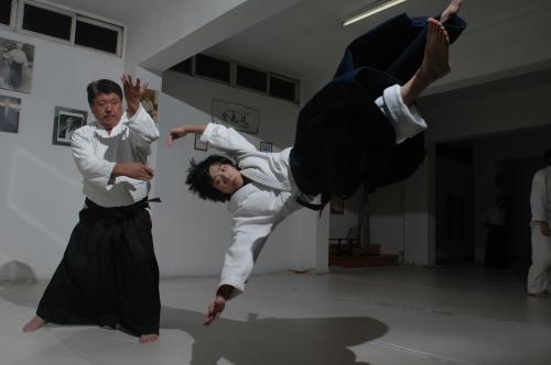 aikido,aikido montlucon asptt,masafumi sakanashi