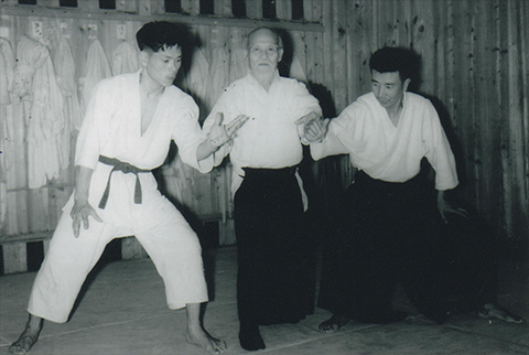 aikido,aikido montlucon asptt,motomichi anno
