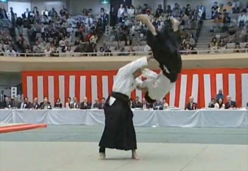 aikido,aikido montlucon asptt,hiroshi isoyama