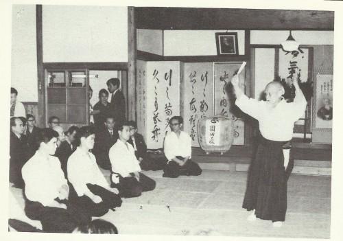aikido,ffaaa,asptt,montlucon,saotome sensei