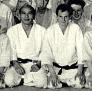 Kenshiro Abbe Sensei Ken Williams Sensei au Dojo Hut..jpg