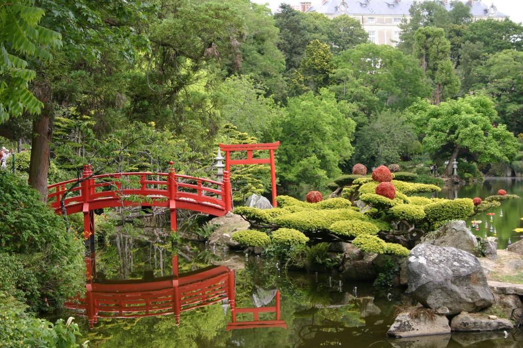 Parc oriental de maul vrier aikido montlu on asptt for Jardin japonais cholet